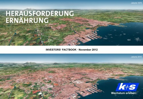 Roadshow Frankfurt - K+S Aktiengesellschaft