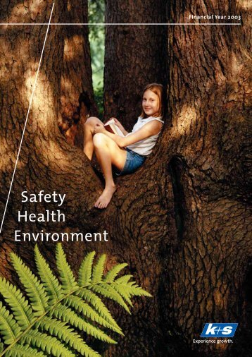 Environmental Report 2003 - K+S Aktiengesellschaft
