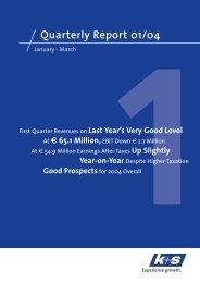 Quarterly Report January - March 2004 (PDF   124 KB) - K+S ...
