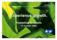 2006 - K+S Aktiengesellschaft