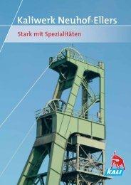 Pressemappe Kaliwerk Neuhof-Ellers - K+S Aktiengesellschaft