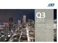 Quartalsfinanzbericht Q3/2013 - K+S Aktiengesellschaft