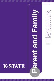 Parent Handbook - Kansas State University