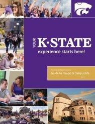 sample of our viewbook - Kansas State University