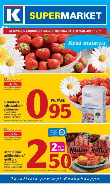 Katso tarjouksemme - K-supermarket
