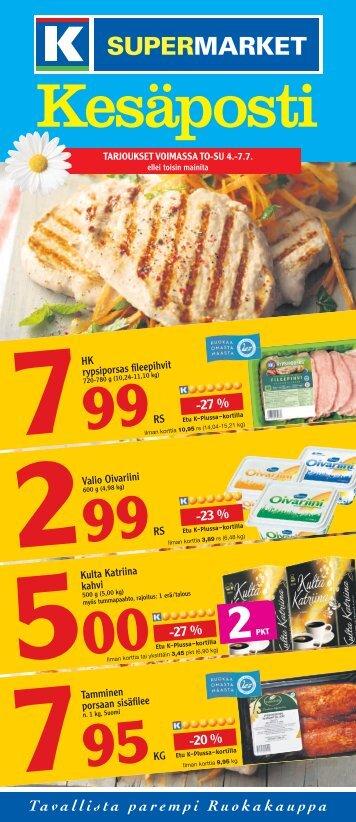 Kesäposti - K-supermarket