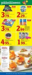 Hyvää pääsiäistä! - K-supermarket - Page 3