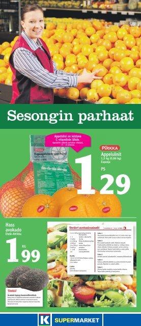TARJOUKSET VOIMASSA TO-LA 3.-5.1. - K-supermarket