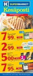 -23 % -27 % -27 % -20 % - K-supermarket