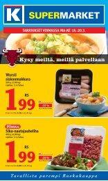 Kysy meiltä, meillä palvellaan - K-supermarket
