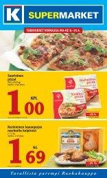 Saarioinen pizzat Kariniemen kananpojan ... - K-supermarket