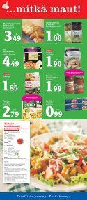 TARJOUKSET VOIMASSA TO-SU 28.2.-3.3. - K-supermarket - Page 3