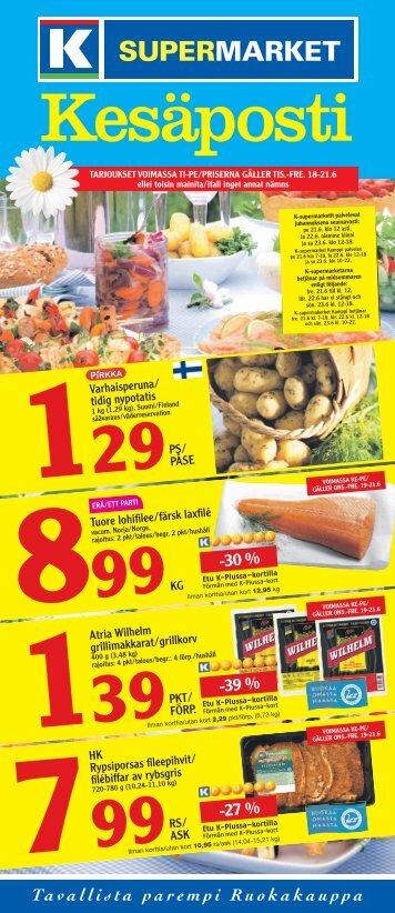 -30 % -39 % -27 % - K-supermarket