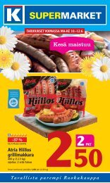 Kesä maistuu - K-supermarket