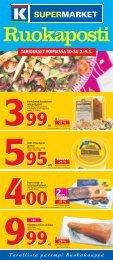 tarjoukset voimassa to-su 2.-5.5. - K-supermarket