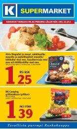RS/ASk - K-supermarket