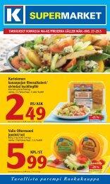 KPl/st. Rs/AsK - K-supermarket