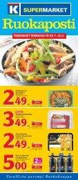 tarjoukset voimassa to-su 7.-10.3. - K-supermarket