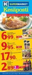 Katso tarjouslehti - K-supermarket