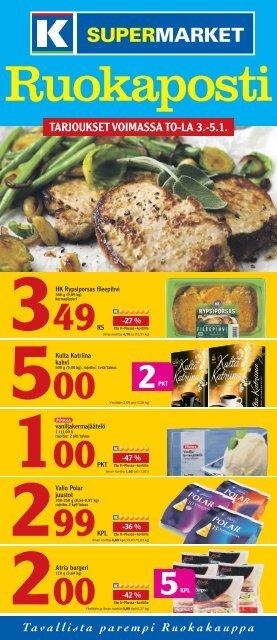 tarjoukset voimassa to-la 3.-5.1. 349 - K-supermarket