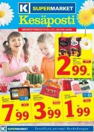 PKT RS KPL RS TARJOUKSET VOIMASSA TO-SU 6. - K-supermarket