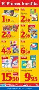 tarjoukset voimassa to-su 2.-5.5. - K-supermarket - Page 3
