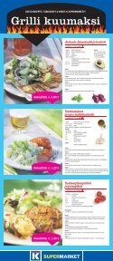 Grilli kuumaksi - K-supermarket - Page 6