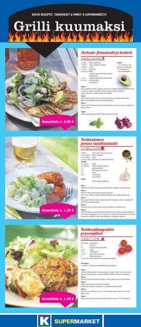 Grilli kuumaksi - K-supermarket