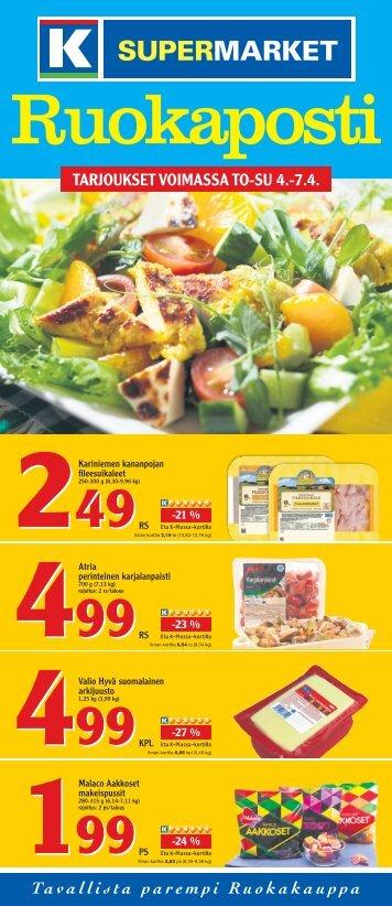 TARJOUKSET VOIMASSA TO-SU 4.-7.4. - K-supermarket