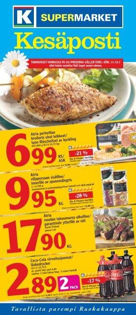 -28 % -21 % -17 % - K-supermarket
