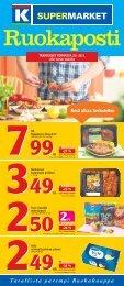 Kesä alkaa herkutellen - K-supermarket