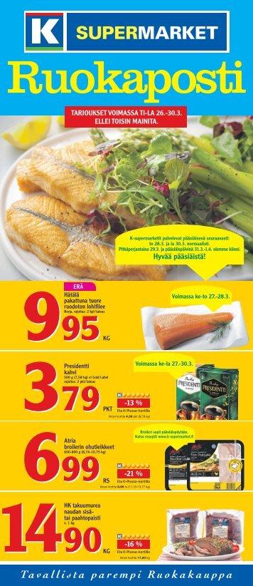 Hyvää pääsiäistä! - K-supermarket