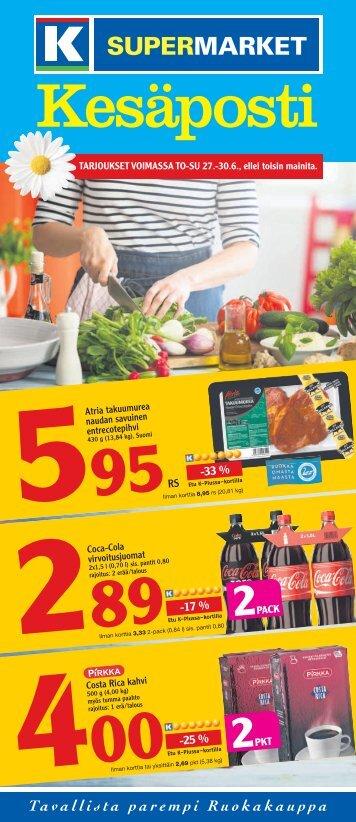 -17 % -33 % -25 % - K-supermarket