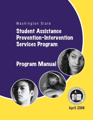 Student Assistance Prevention-Intervention Services Program ...