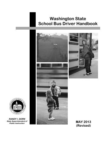 Washington state drivers guide book