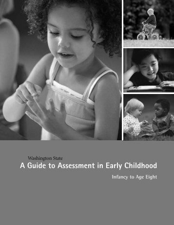 A Guide to Assessment in Early Childhood - Office of Superintendent ...