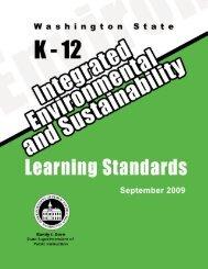 Washington State K-12 Integrated Environmental and Sustainability ...