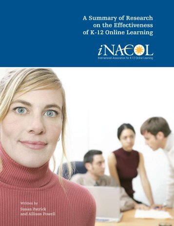 A Summary of Research on the Effectiveness of K-12 ... - iNACOL