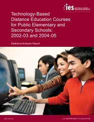 Technology-Based Distance Education Courses for Public ...