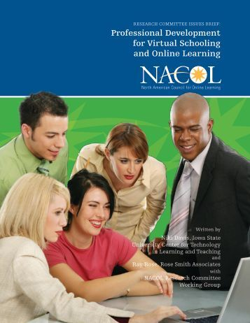 Professional Development for Virtual Schooling and Online Learning