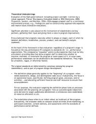 Evaluation Design - California K-12 High Speed Network