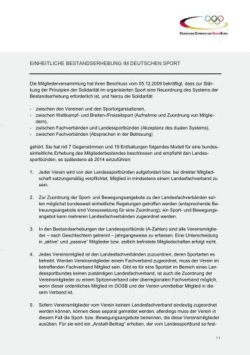 Brief an Sportvereine wegen Bestandserhebung Seite B ... - sport-ID
