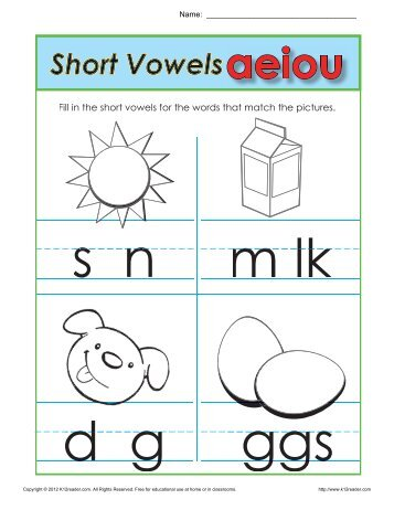 Count The Syllables Phonics Worksheets