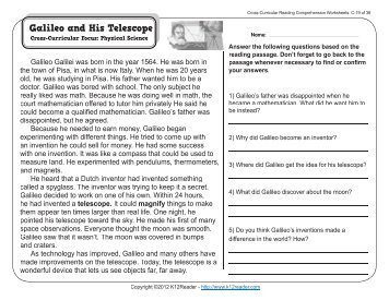 Earthquakes 7th grade reading comprehension worksheets