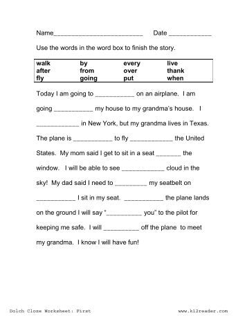 all worksheets cloze activity worksheets printable worksheets guide for children and parents. Black Bedroom Furniture Sets. Home Design Ideas