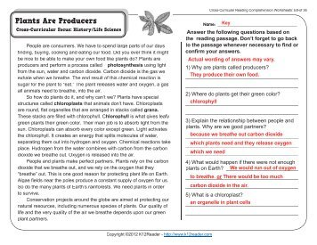 Cross curricular reading comprehension worksheets d 6 of 36