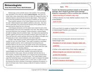 Cross-Curricular Reading Comprehension Worksheets: E-30