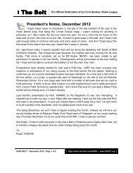 December, 2012 Edition - K8utt.org
