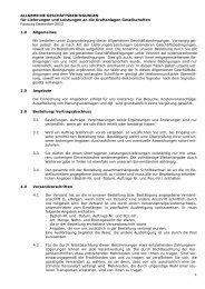 ALLGEMEINE GESCHÄFTSBEDINGUNGEN für Lieferungen und ...