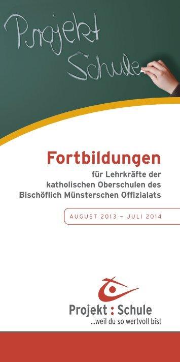 Programm für das Schuljahr 2013/2014. - Katholische Akademie ...